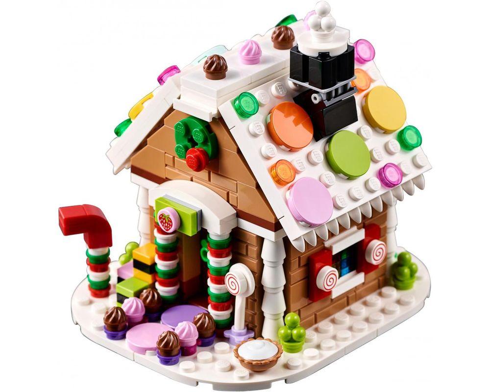 LEGO Set 40139-1 Gingerbread House (Model - A-Model)