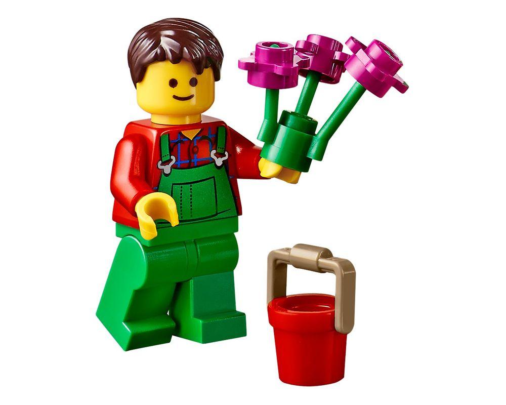 LEGO Set 40140-1 Flower Cart