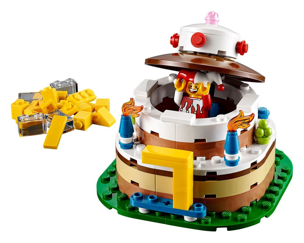 LEGO Set 40153-1 Birthday Cake