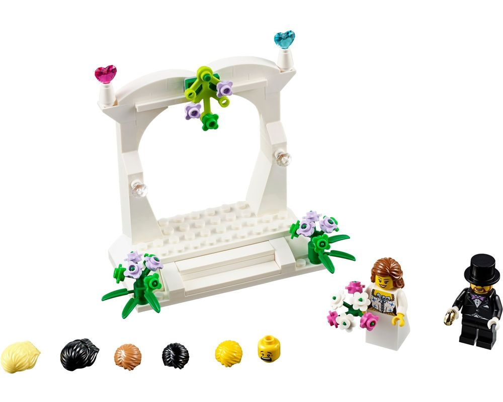 LEGO Set 40165-1 Minifigure Wedding Favor Set (Model - A-Model)