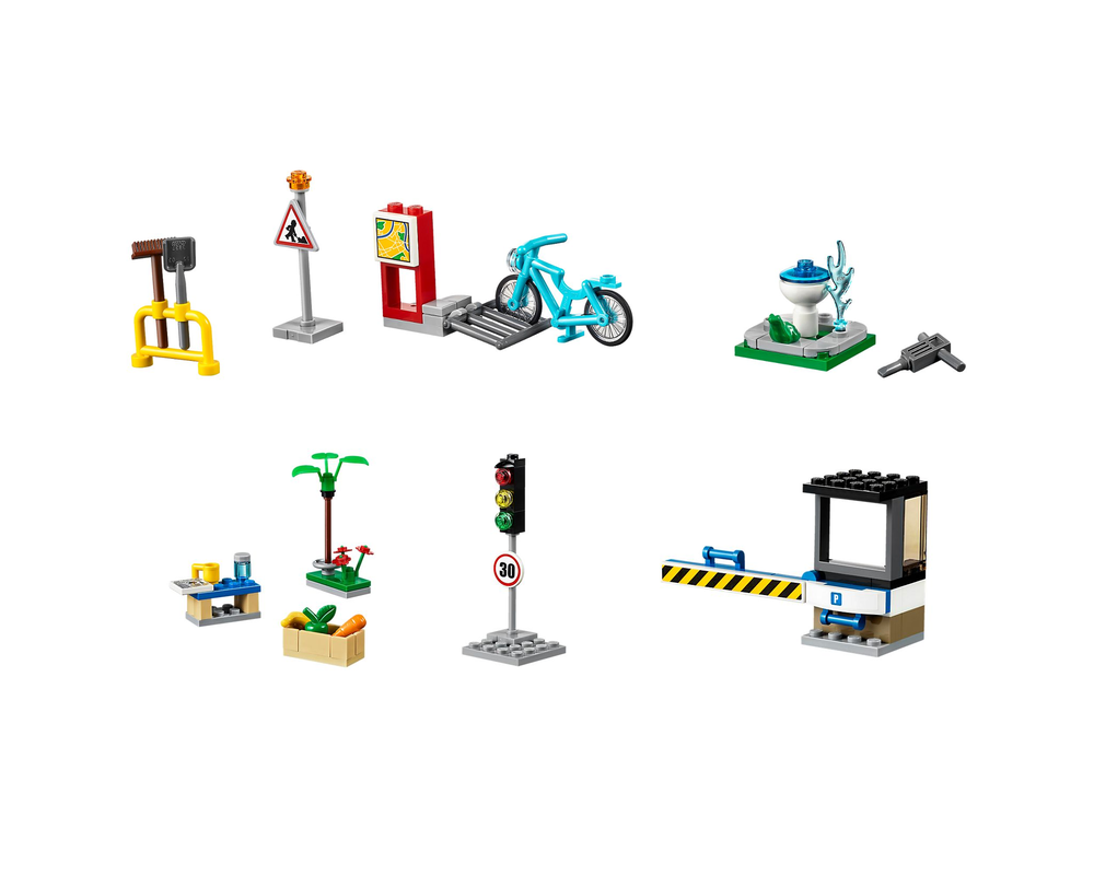 LEGO Set 40170-1 Build My City Accessory Set (LEGO - Model)