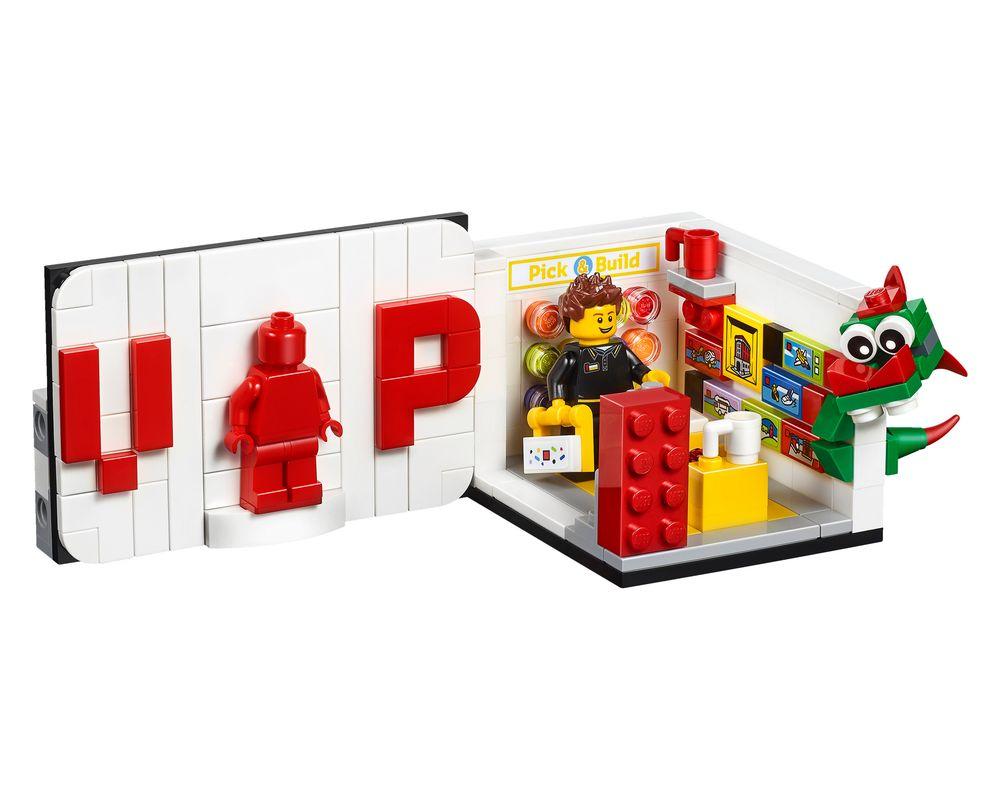 LEGO Set 40178-1 Iconic VIP Set (Model - A-Model)