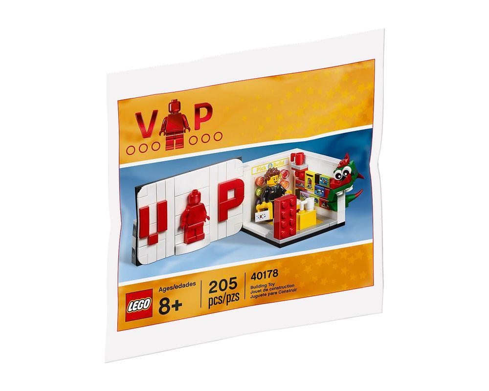 LEGO Set 40178-1 Iconic VIP Set