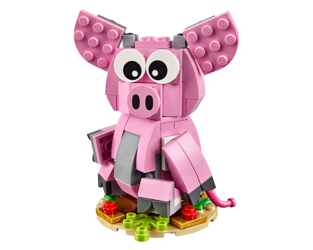 LEGO Set 40186-1 Year of the Pig (Model - A-Model)