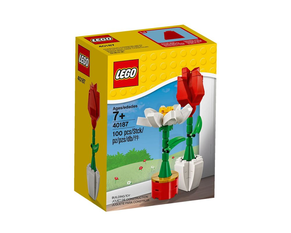 LEGO Set 40187-1 Flowers