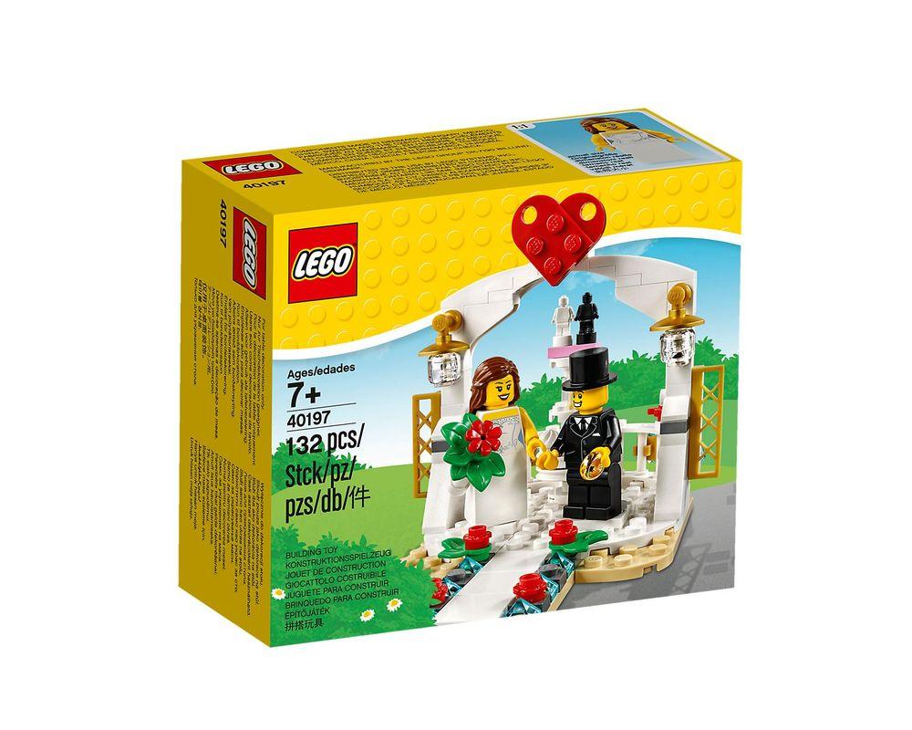LEGO Set 40197-1 Wedding Favour 2018