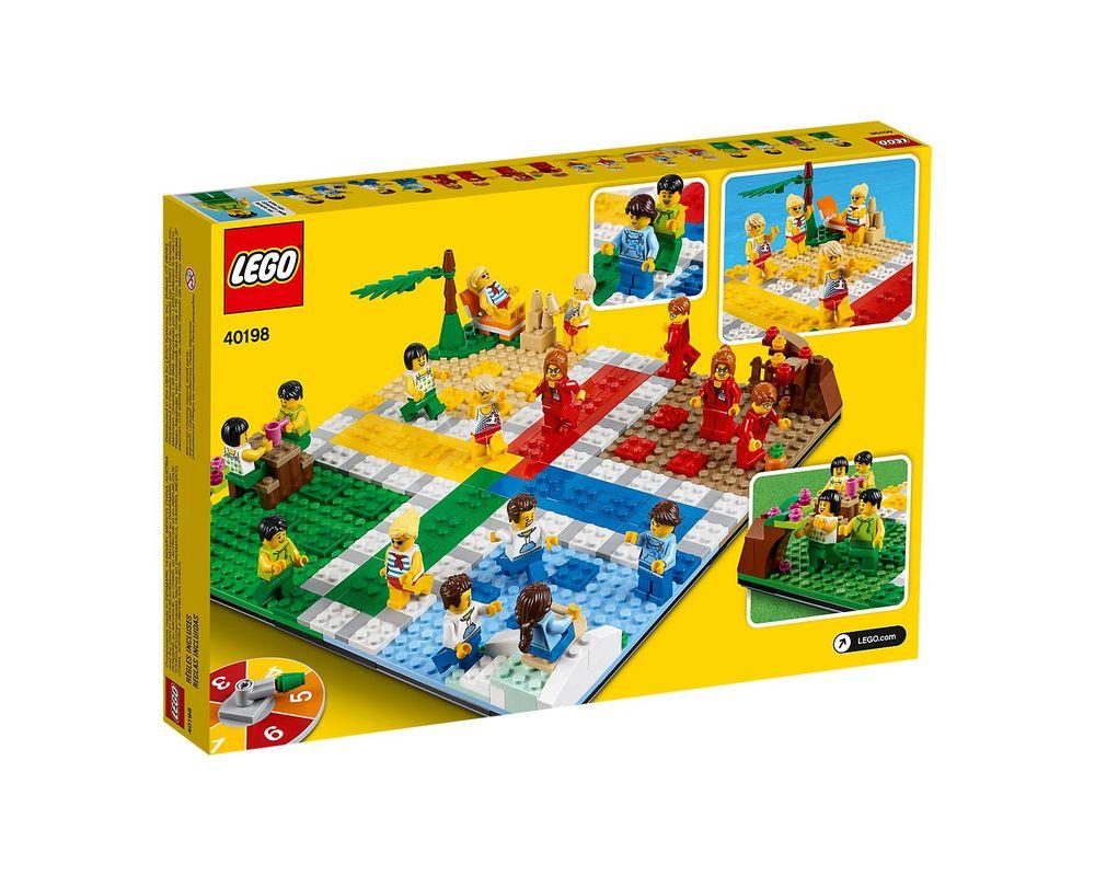 LEGO Set 40198-1 Ludo Game