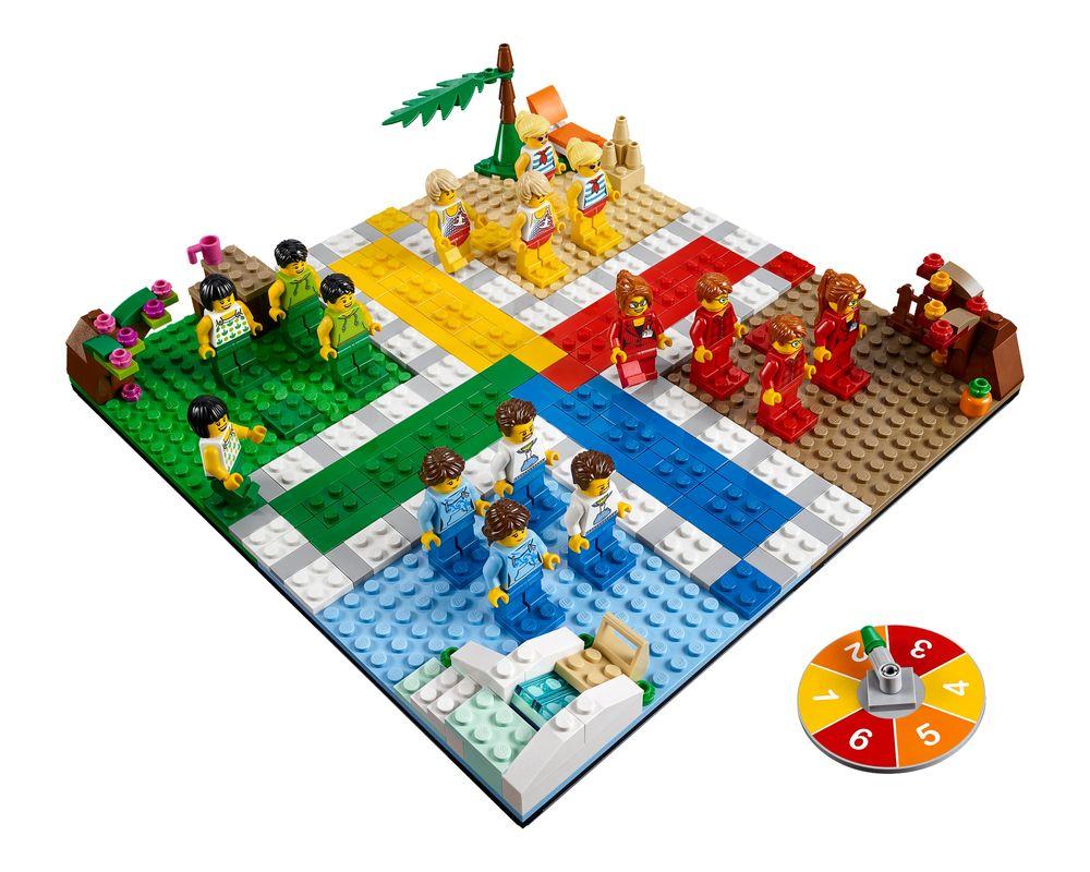 LEGO Set 40198-1 Ludo Game (Model - A-Model)