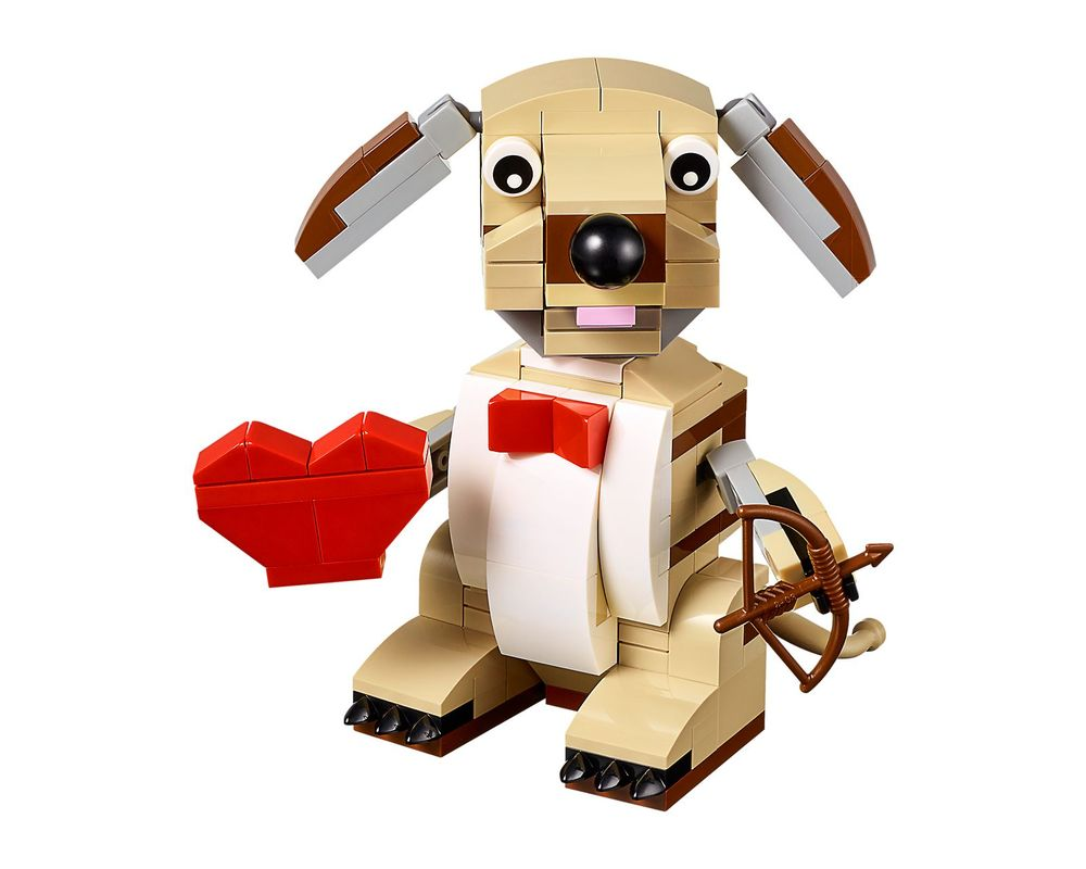 LEGO Set 40201-1 Valentines Cupid Dog