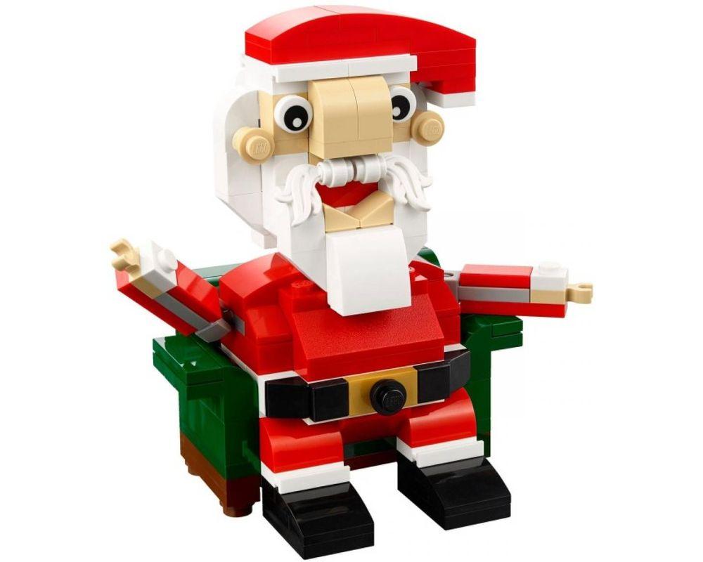 LEGO Set 40206-1 Santa (Model - A-Model)