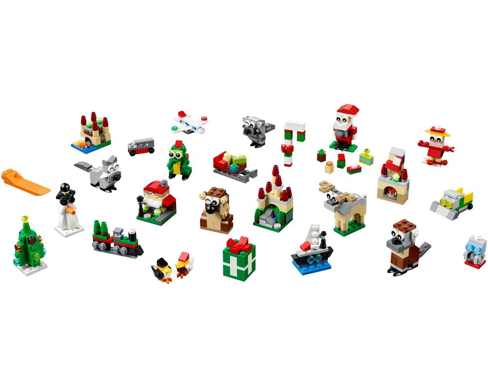 LEGO Set 40222-1 24-in-1 Holiday Countdown (Model - A-Model)