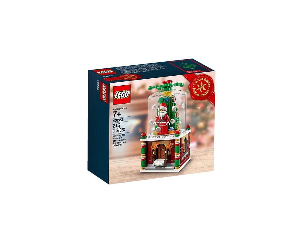LEGO Set 40223-1 Snowglobe