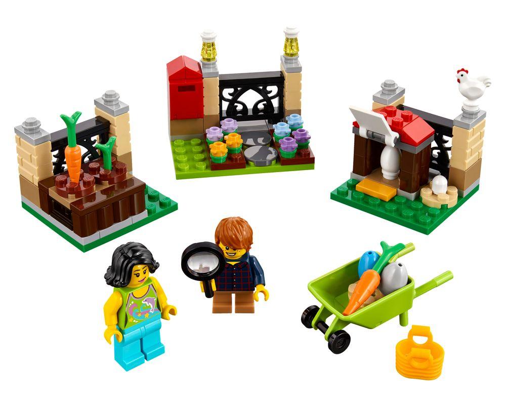 LEGO Set 40237-1 Easter Egg Hunt (Model - A-Model)