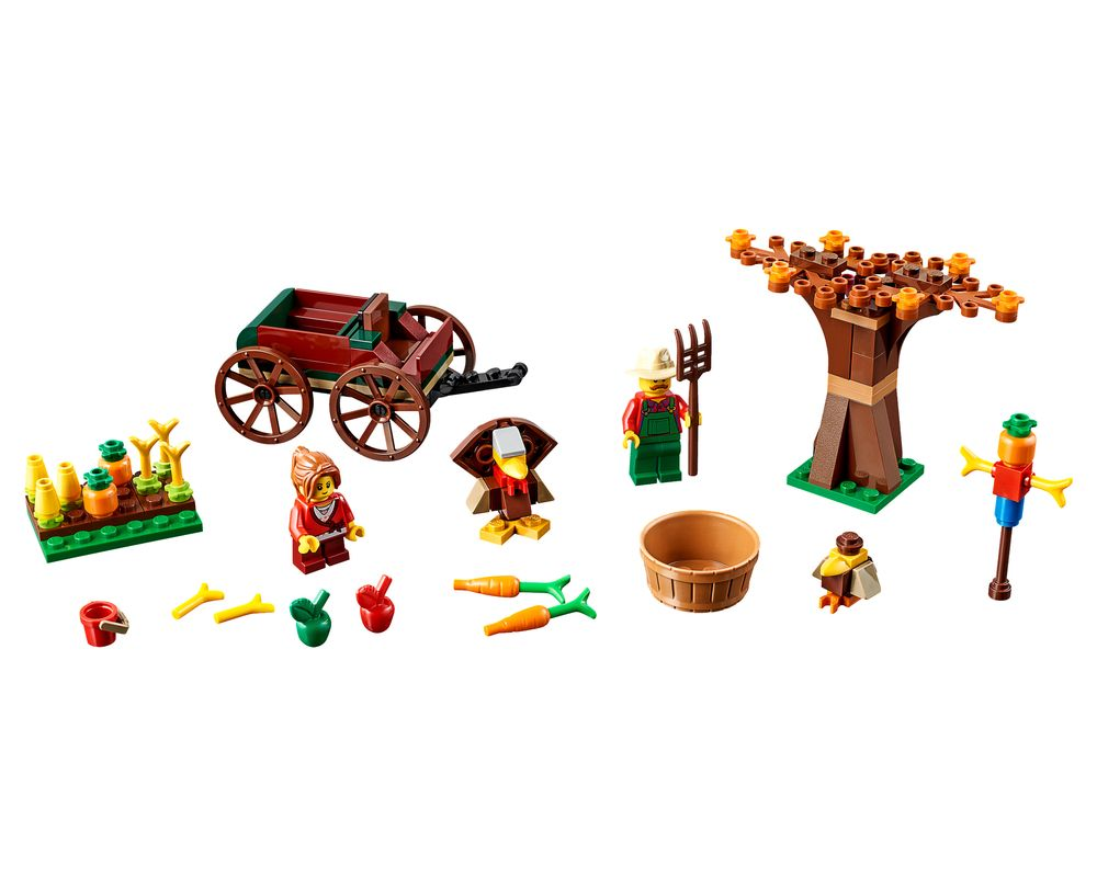 LEGO Set 40261-1 Thanksgiving Harvest (LEGO - Model)