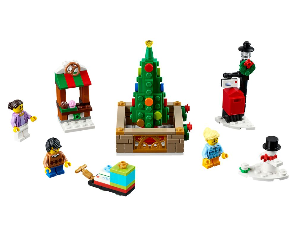 LEGO Set 40263-1 Christmas Town Square (LEGO - Model)