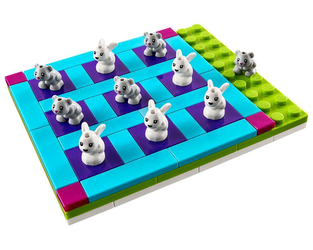 LEGO Set 40265-1 Friends Tic-Tac-Toe (LEGO - Model)