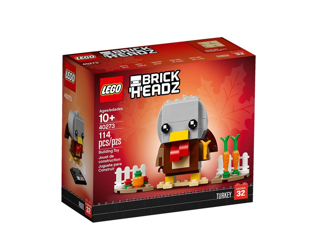 LEGO Set 40273-1 Turkey