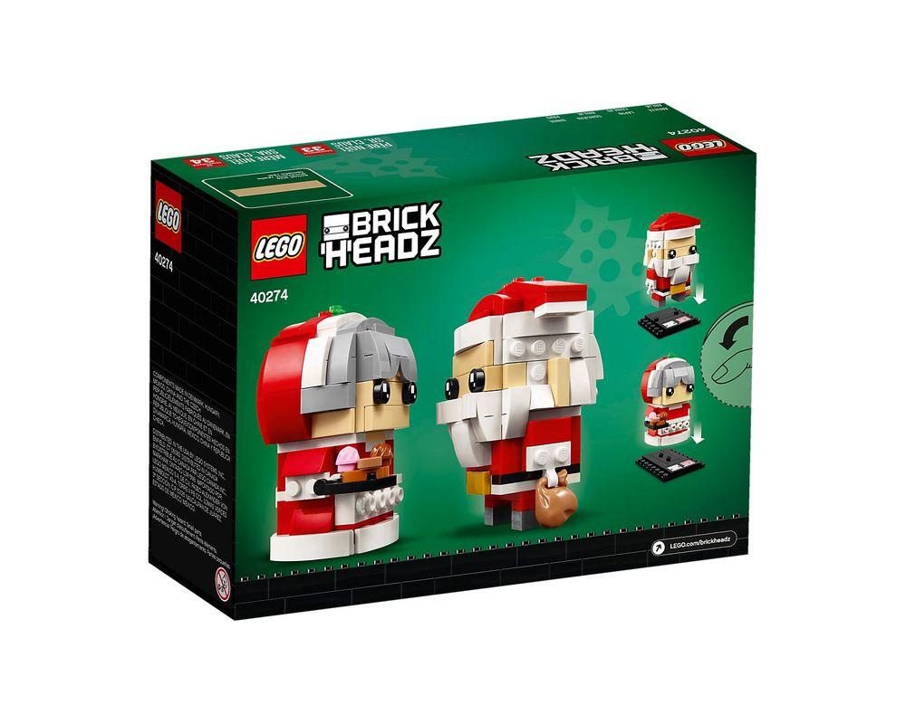 LEGO Set 40274-1 Mr. Claus & Mrs. Claus