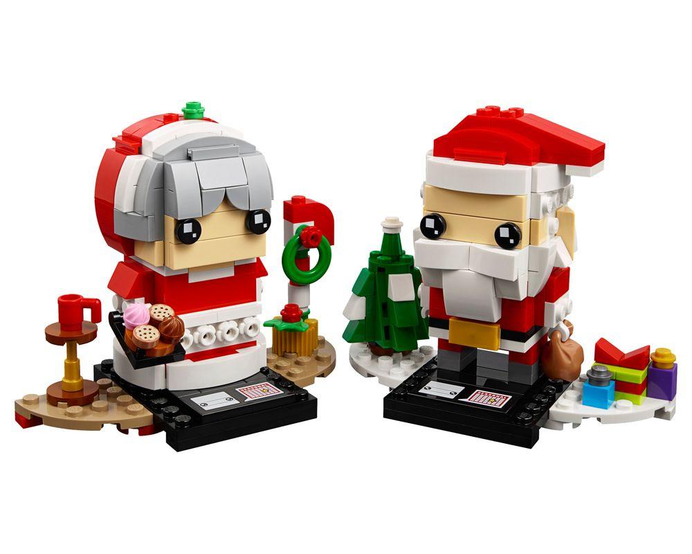 LEGO Set 40274-1 Mr. Claus & Mrs. Claus (LEGO - Model)