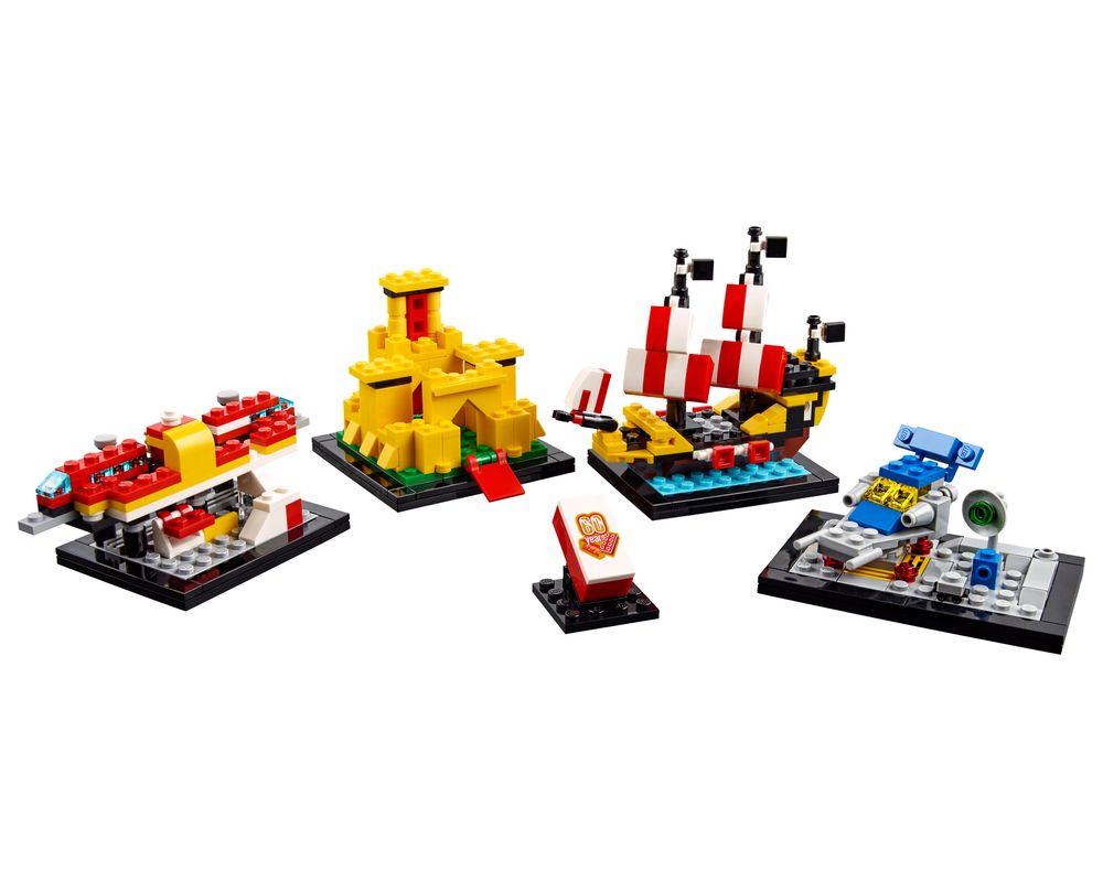 LEGO Set 40290-1 60 Years of the LEGO Brick (Model - A-Model)
