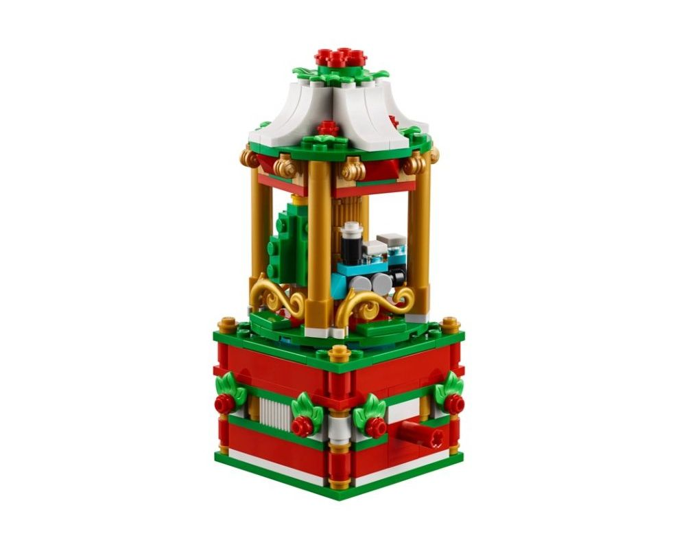 LEGO Set 40293-1 Christmas Carousel (Model - A-Model)