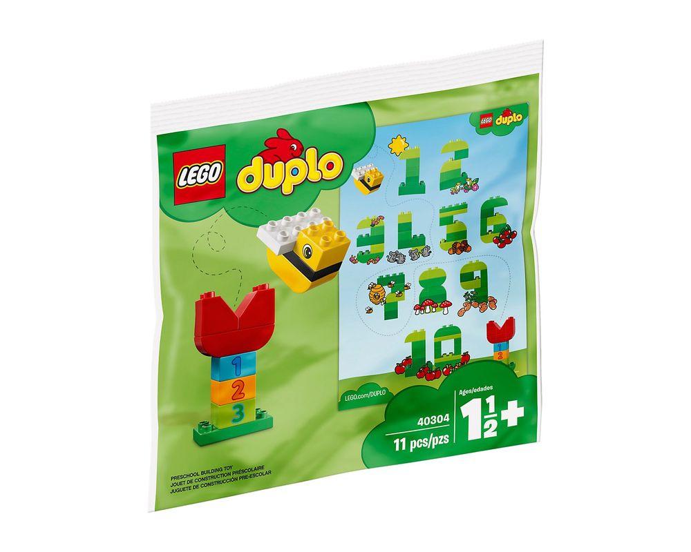 LEGO Set 40304-1 Numbers