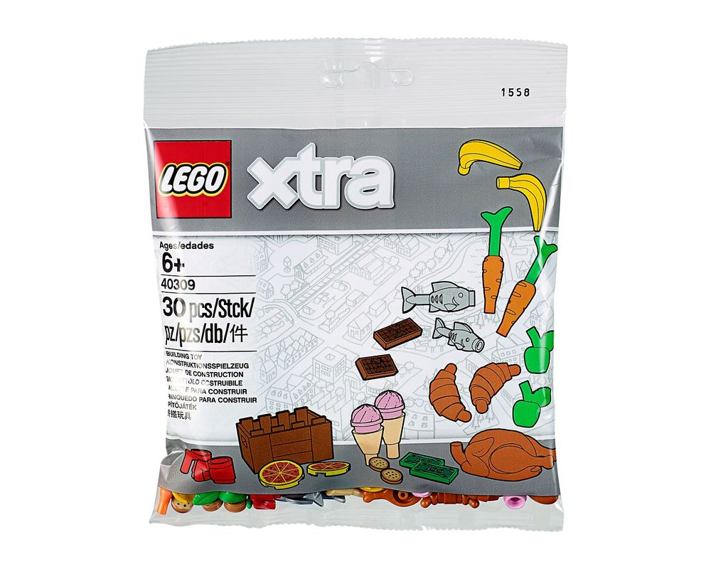 LEGO Set 40309-1 Food Accessories