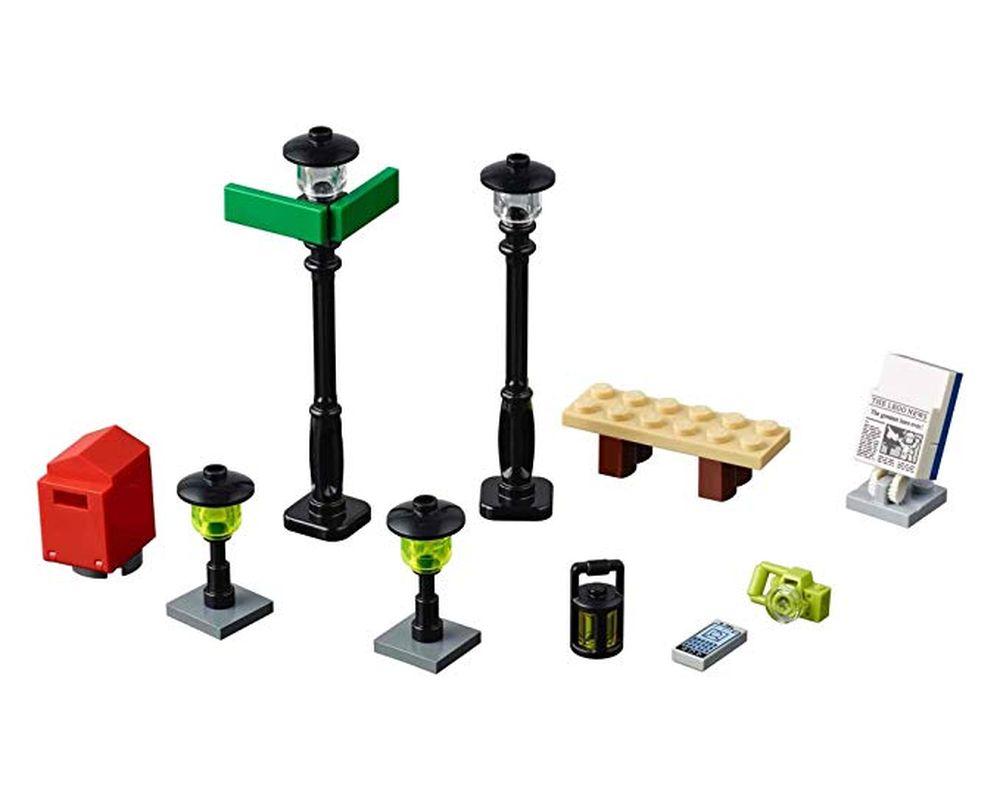 LEGO Set 40312-1 Street Lamps (LEGO - Model)