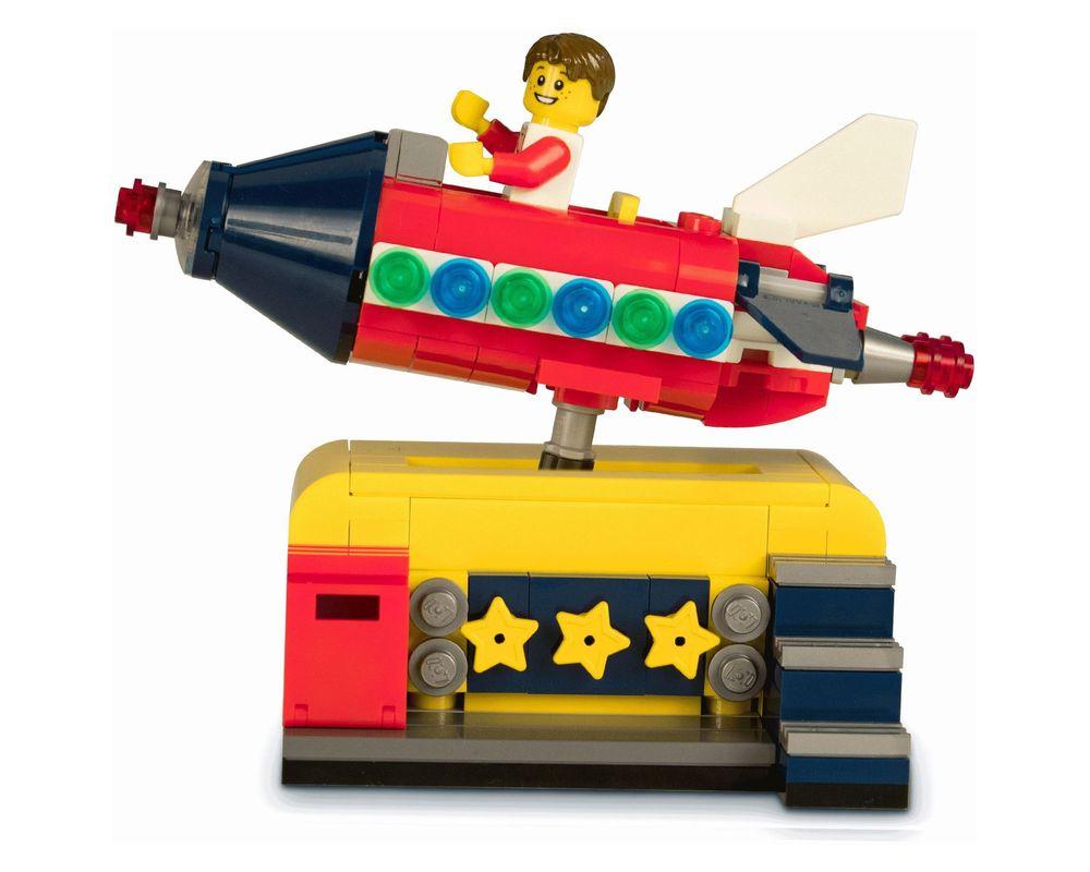 LEGO Set 40335-1 Space Rocket Ride (Model - A-Model)