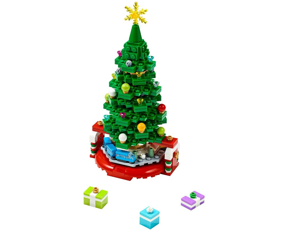 LEGO Set 40338-1 Christmas Tree (LEGO - Model)