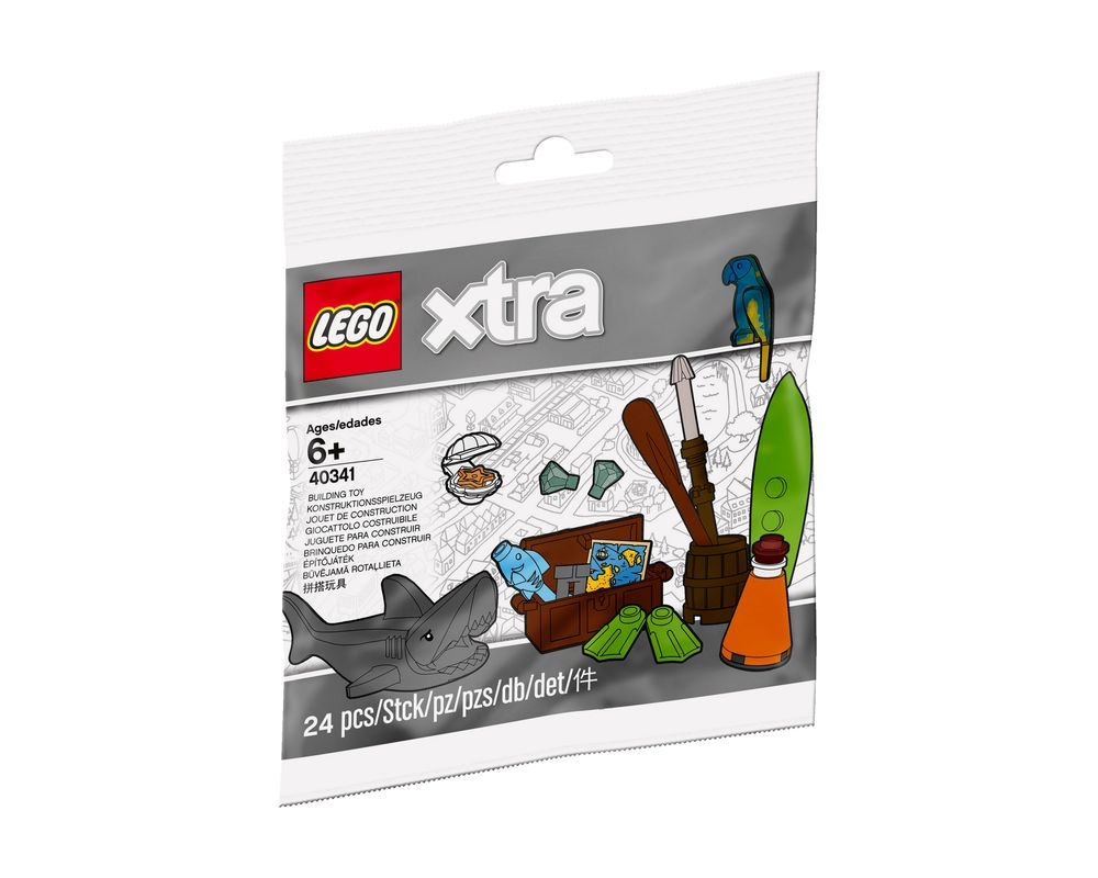 LEGO Set 40341-1 Sea Accessories (Model - A-Model)