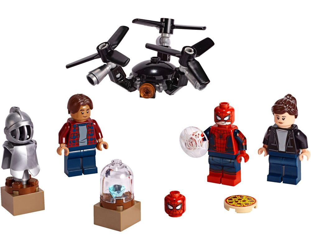 LEGO Set 40343-1 Spider-Man and the Museum Break-In (LEGO - Model)