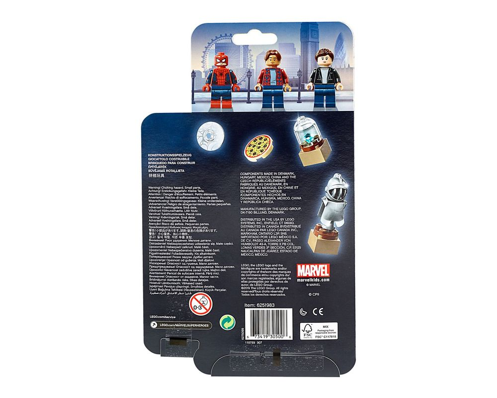 LEGO Set 40343-1 Spider-Man and the Museum Break-In