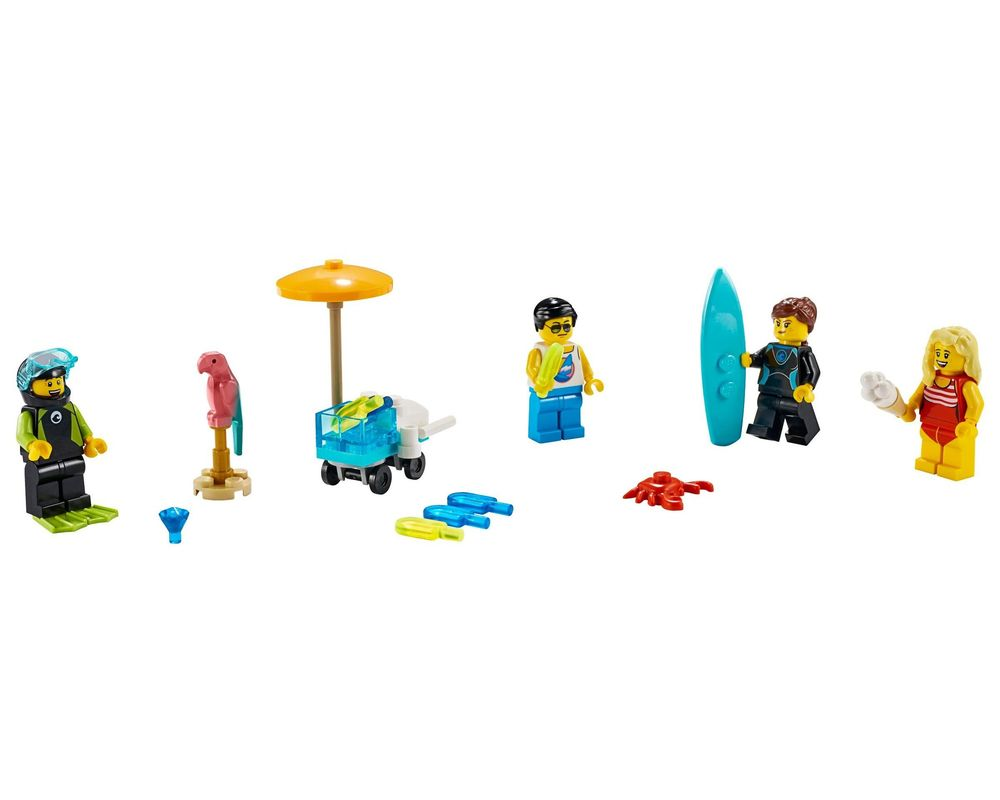 LEGO Set 40344-1 Summer Celebration Minifigure Set (Model - A-Model)