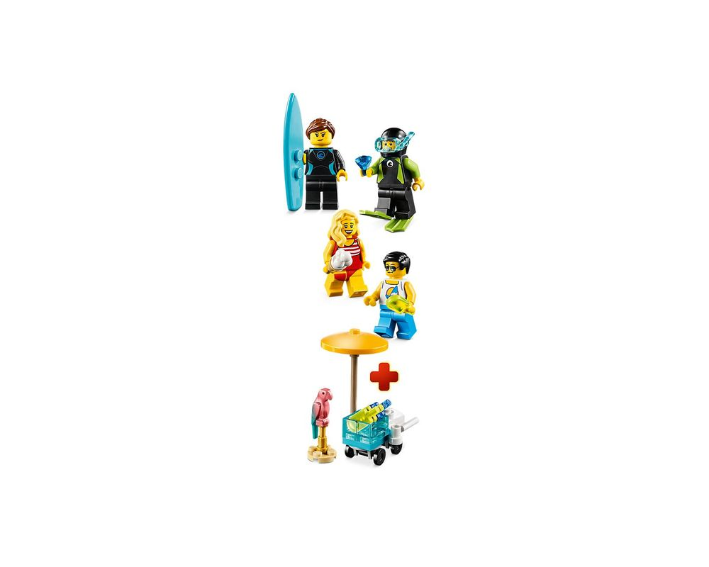 LEGO Set 40344-1 Summer Celebration Minifigure Set