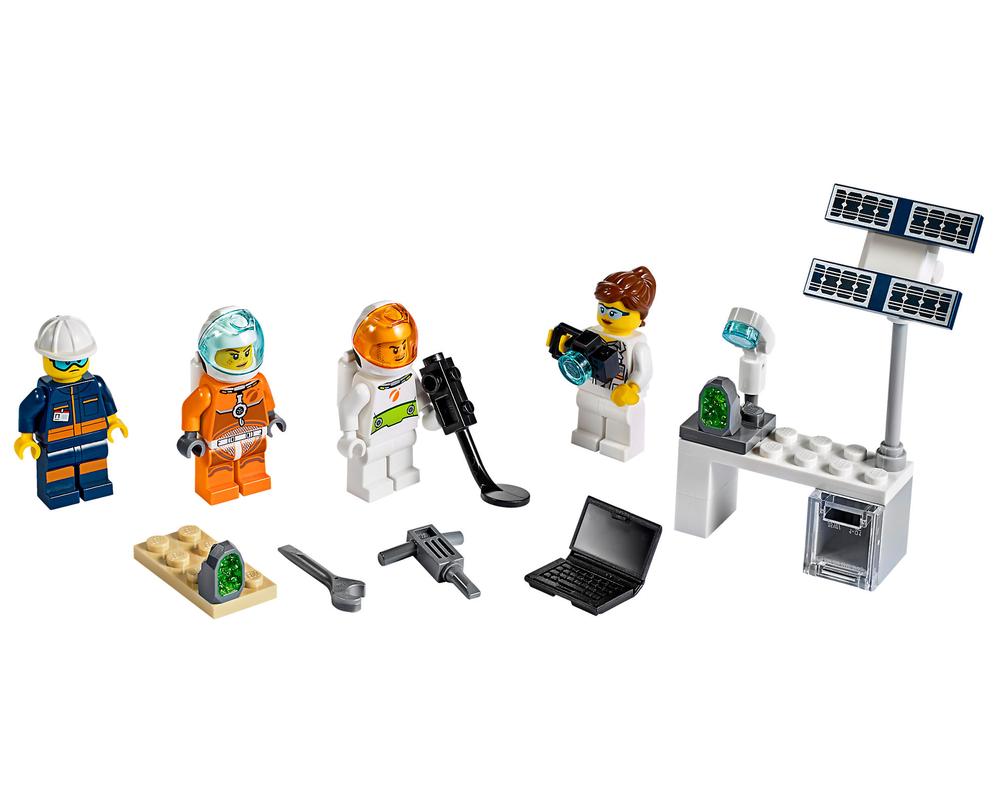 LEGO Set 40345-1 Mars Exploration Minifigure Pack (Model - A-Model)