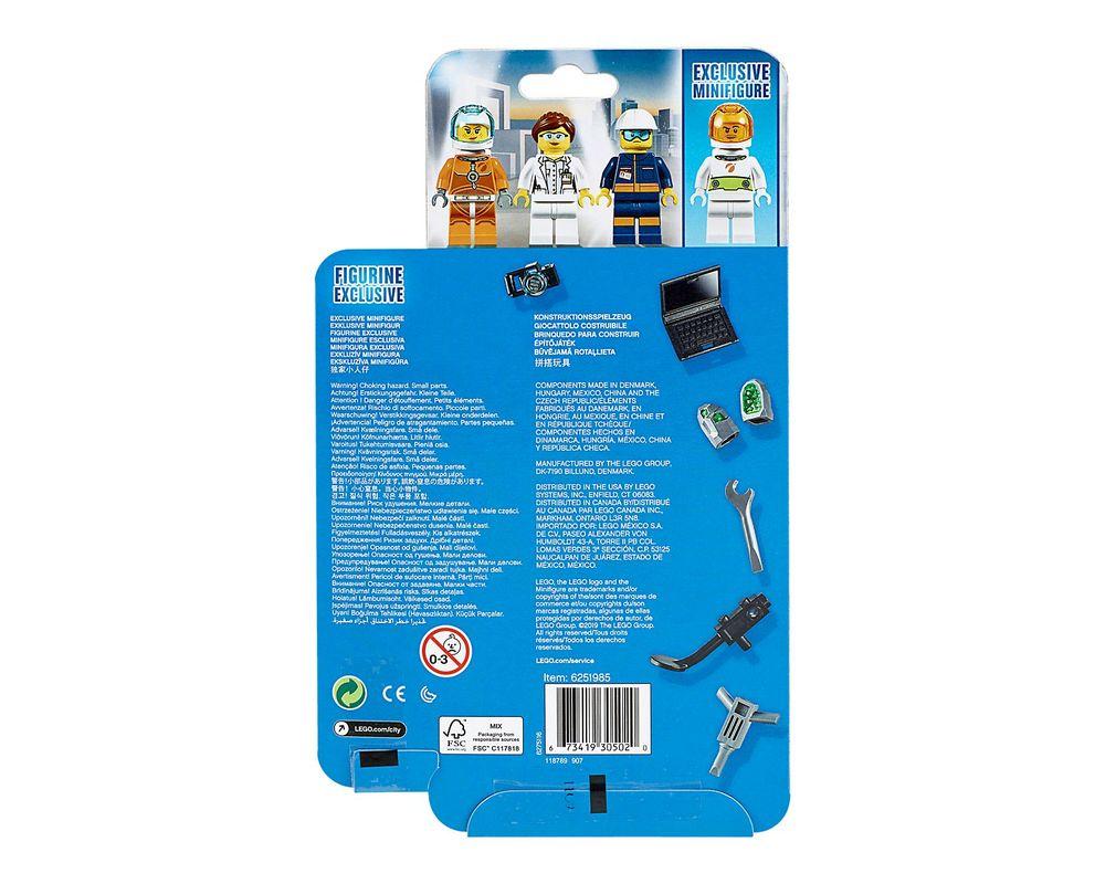 LEGO Set 40345-1 Mars Exploration Minifigure Pack