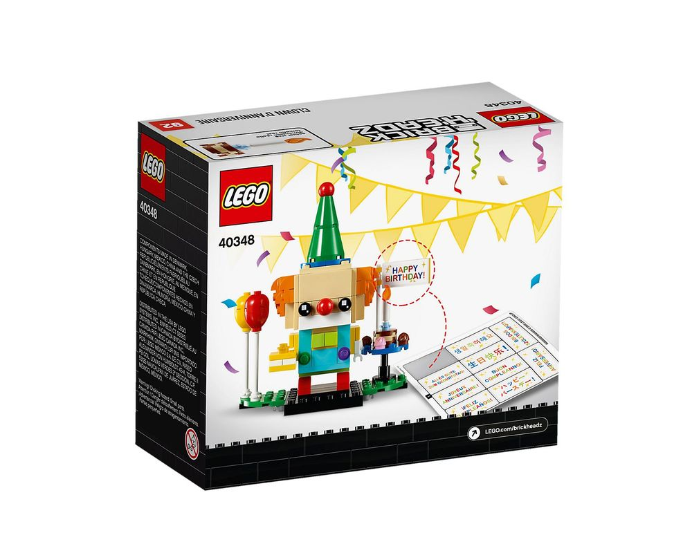 LEGO Set 40348-1 Birthday Clown