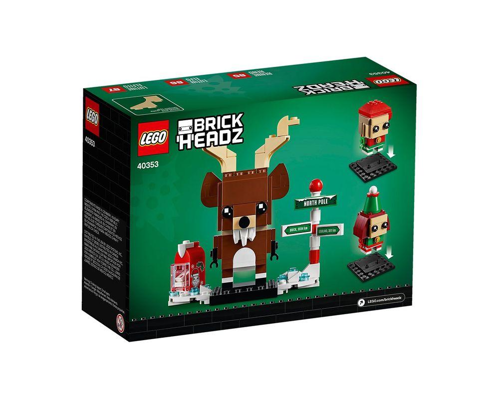 LEGO Set 40353-1 Reindeer, Elf & Elfie
