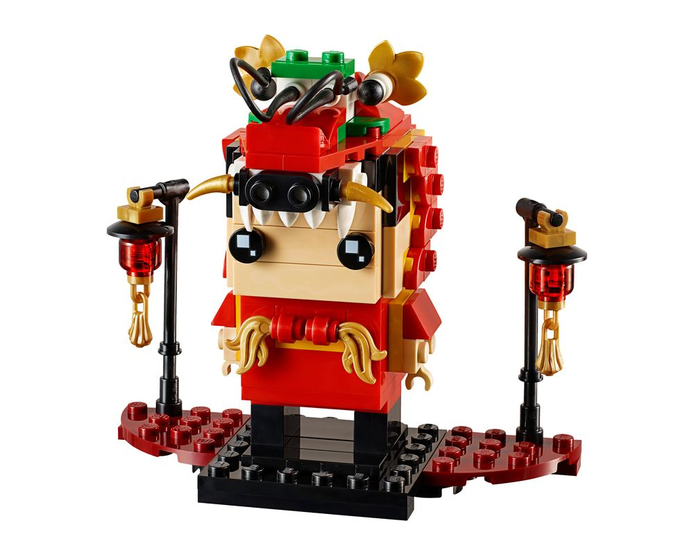 LEGO Set 40354-1 Dragon Dance Guy (LEGO - Model)