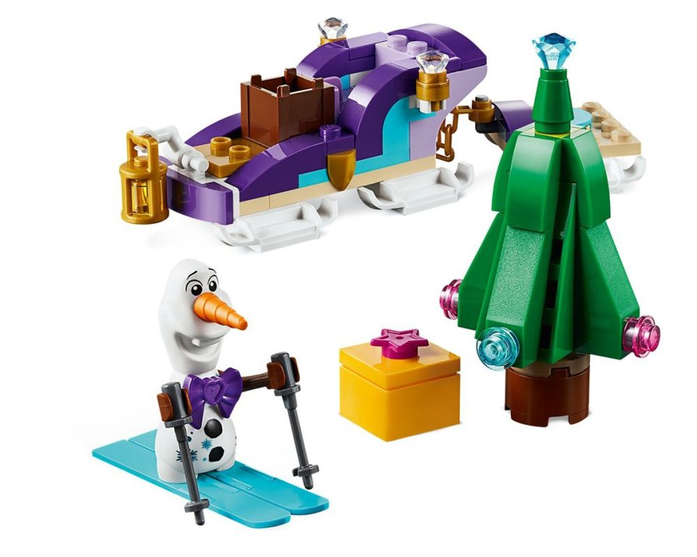 LEGO Set 40361-1 Olaf's Traveling Sleigh (Model - A-Model)
