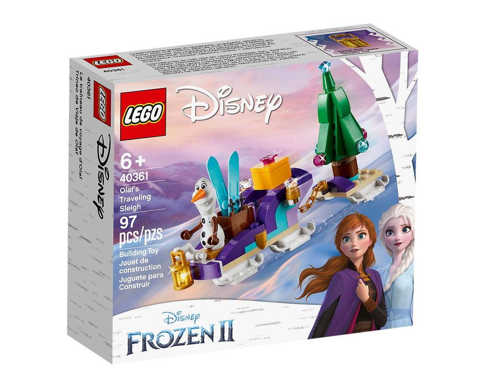 LEGO Set 40361-1 Olaf's Traveling Sleigh