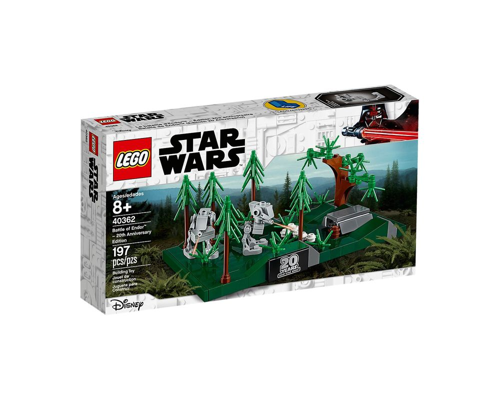 LEGO Set 40362-1 Battle of Endor - 20th Anniversary Edition