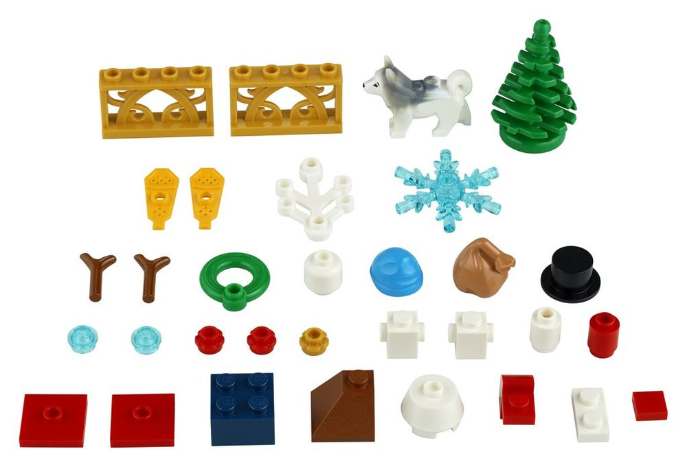 Lego Christmas Set 2019.Lego Set 40368 1 Winter Accessories 2019 Xtra