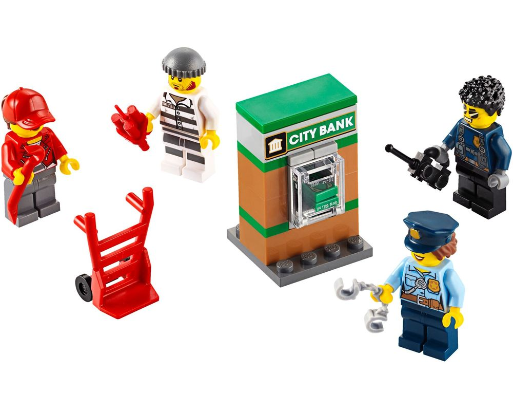 LEGO Set 40372-1 Police Minifigure Accessory Set (LEGO - Model)