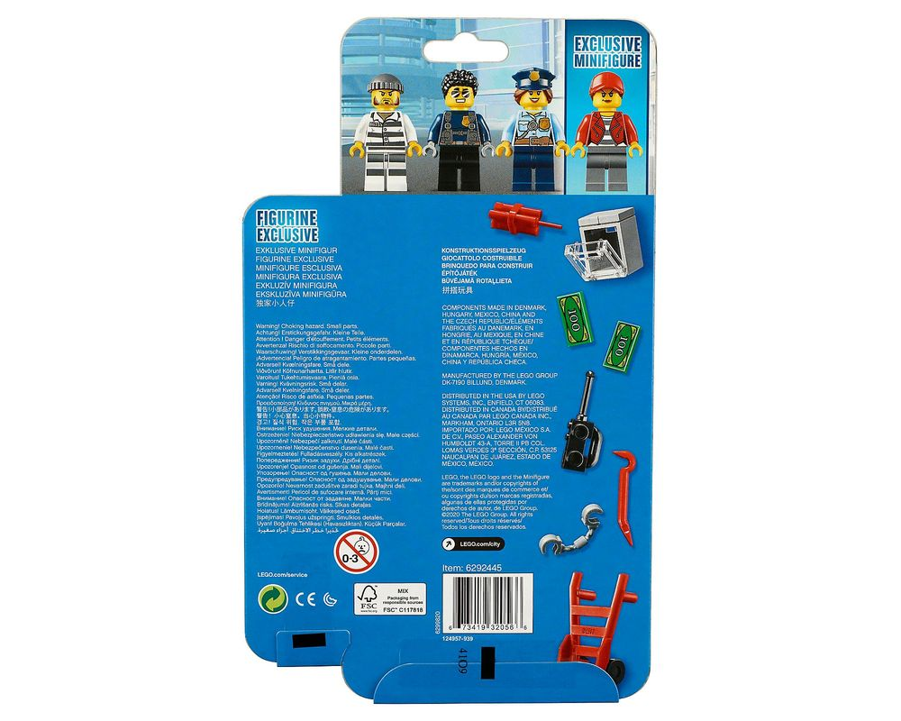 LEGO Set 40372-1 Police Minifigure Accessory Set