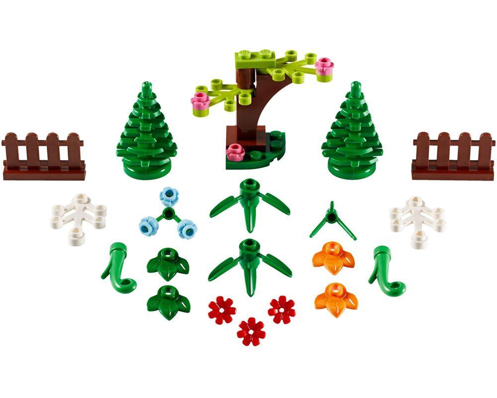 LEGO Set 40376-1 Botanical Accessories (LEGO - Model)