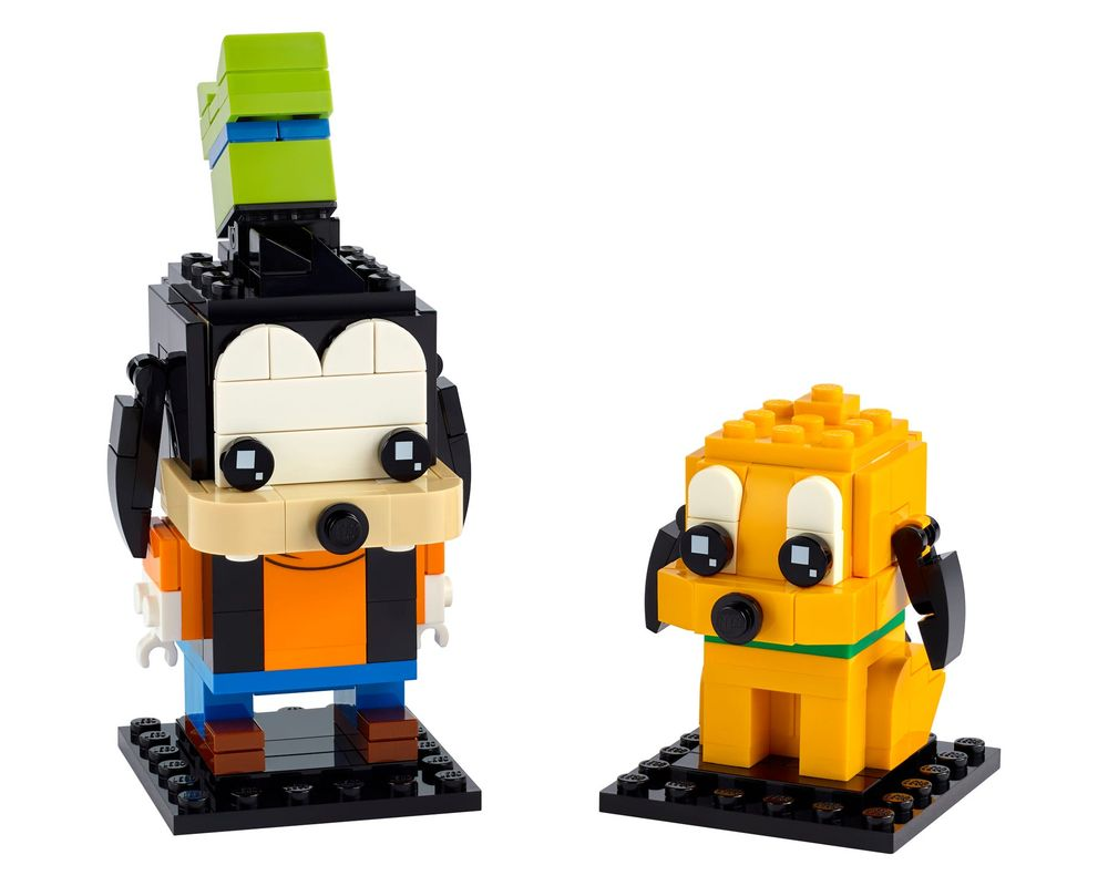 LEGO Set 40378-1 Goofy and Pluto (Model - A-Model)