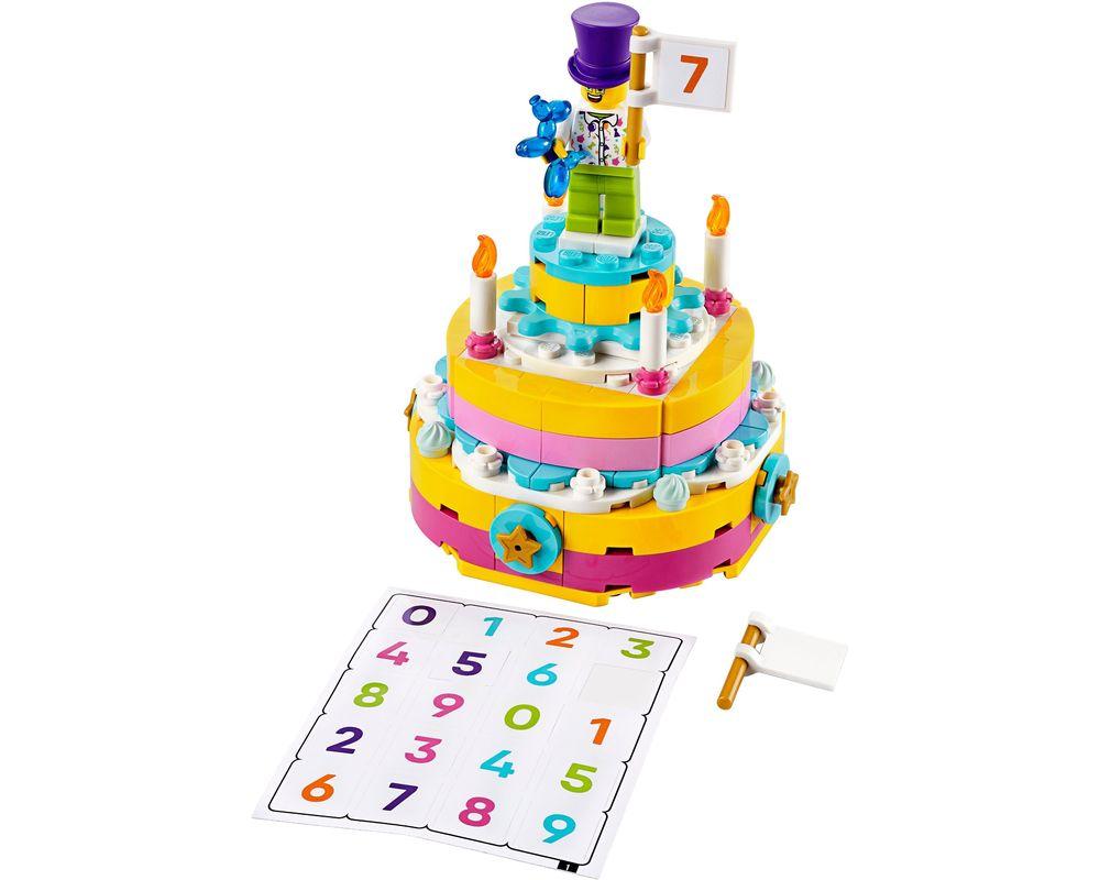 LEGO Set 40382-1 Birthday Set (Model - A-Model)