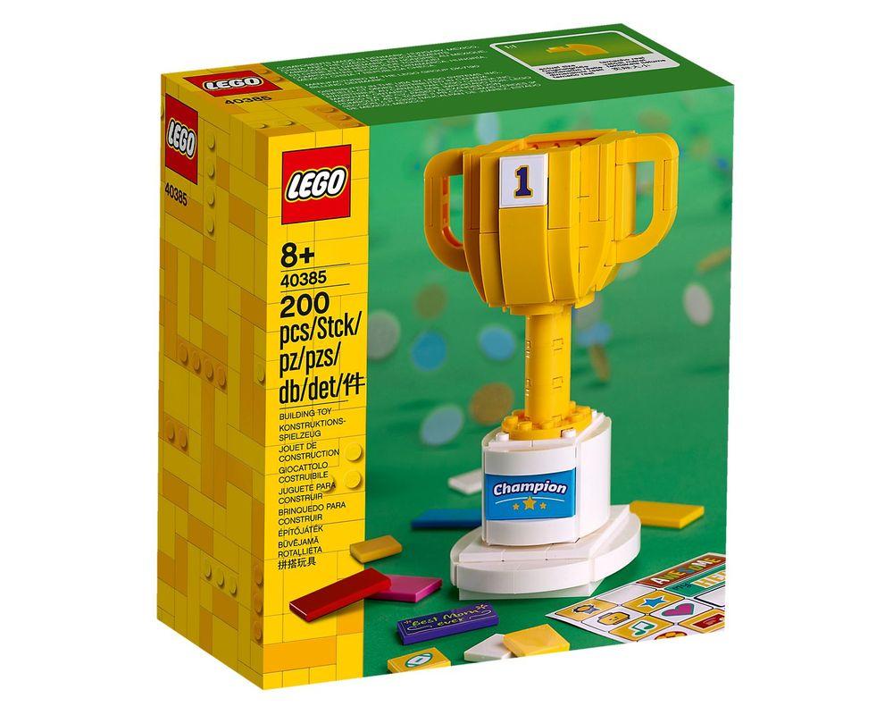 LEGO Set 40385-1 Trophy (LEGO - Box Front)